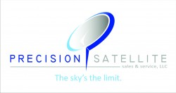 precision satellite logo